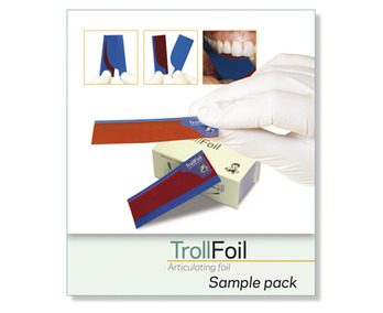 TrollFoil red, sample