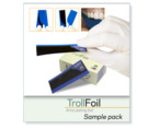 TrollFoil blue, sample